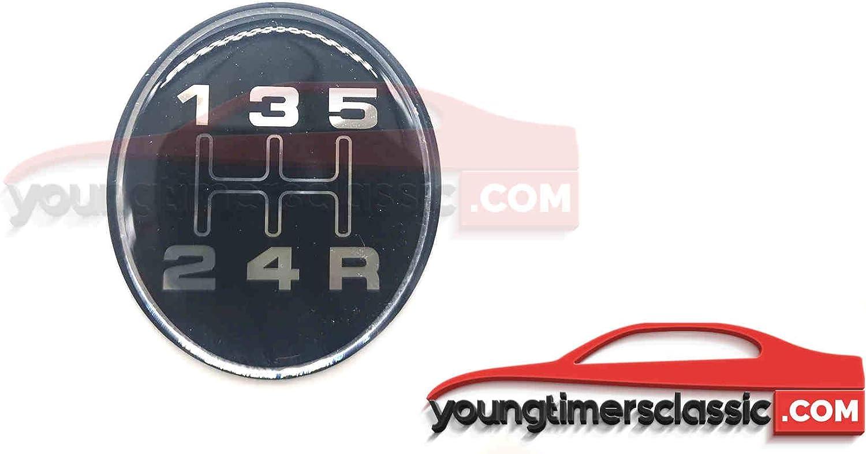 youngtimersclassic 205 glatt Grau Gentry BE3 f/ür Schaltknauf