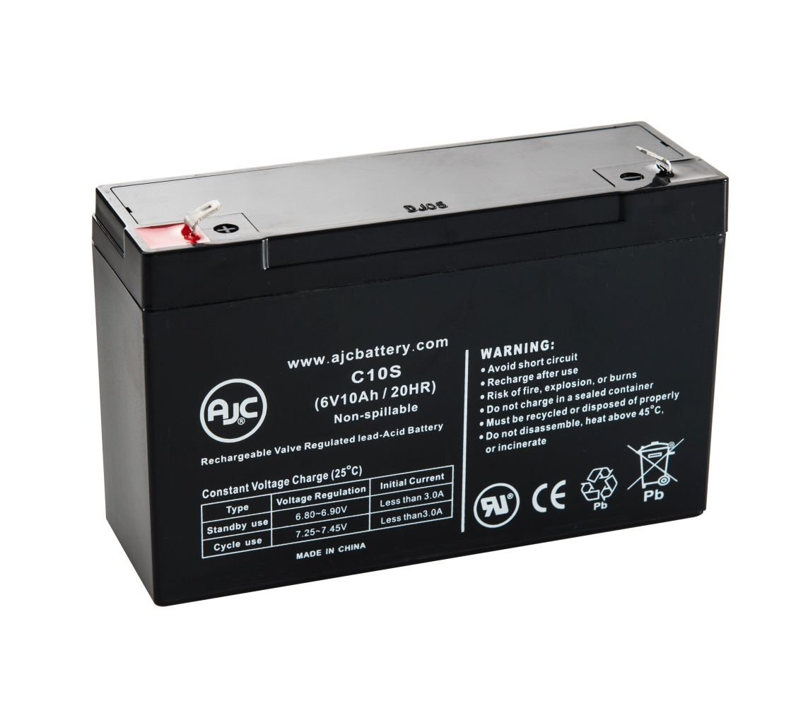 Roche Diagnostics 7 Balloon Pump 6V 10Ah Medical Battery - This is an AJC Brand Replacement
