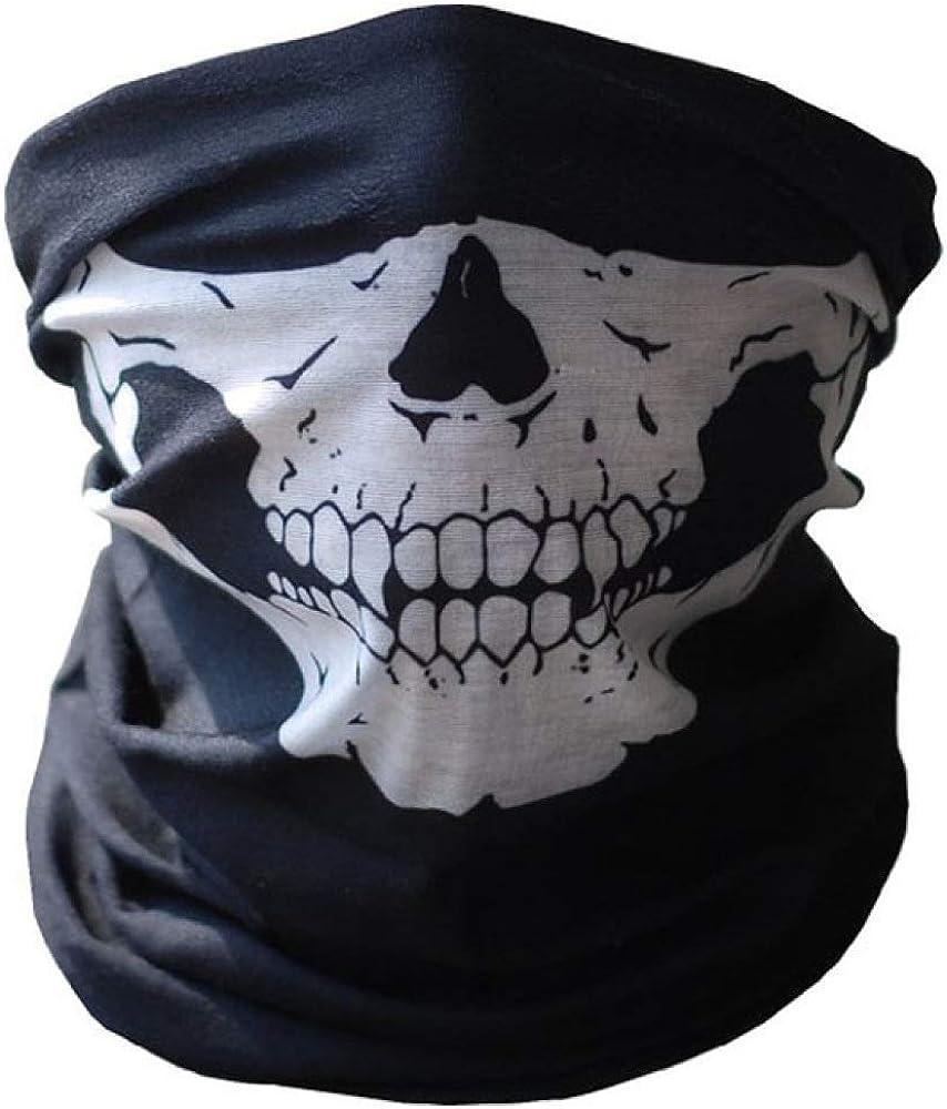HOSD Máscara de Halloween Máscaras de calavera de moda Esqueleto ...