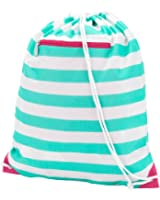Backpack Style Drawstring School Gym Bag