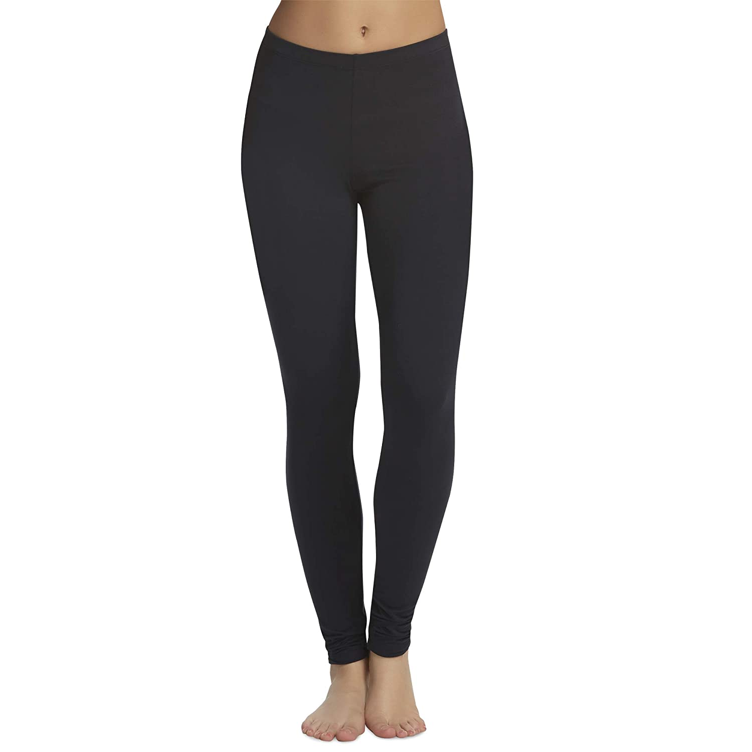 Legging Velvety Super Soft LightWeight By Felina Black 2 Pack New Arrival