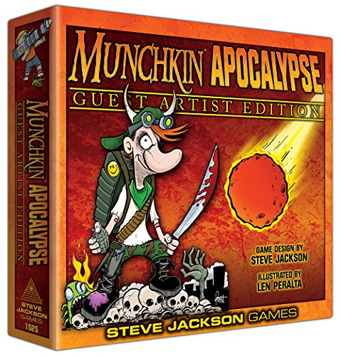 Steve Jackson Games Munchkin Apocalypse Guest Artist Edition: Len Peralta
