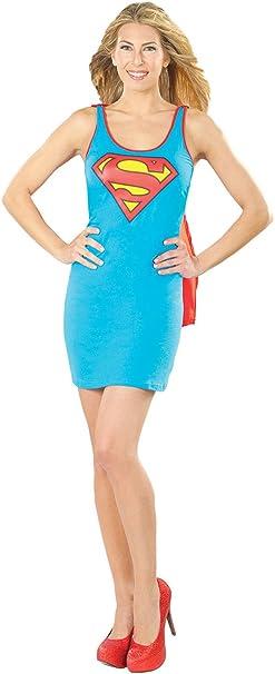 Rubies para Mujer Supergirl Disfraz Nuevo Disfraz superhéroe ...