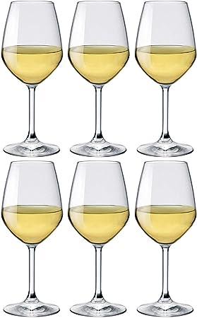 Rocco Bormioli - Juego de Copas de Vino (44 cl, 6 Unidades)