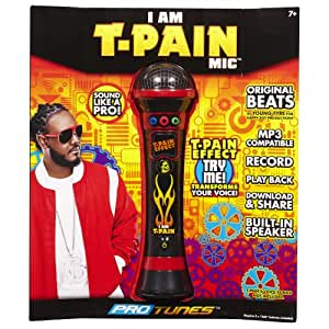 ProTunes I Am T-Pain Mic - Red
