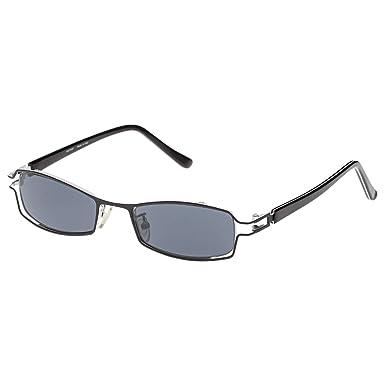 f8164c85c فانتاسي نظارات شمسية للنساء بتصميم مستطيل - 21- اسود ابيض - 50-19-135 ملم