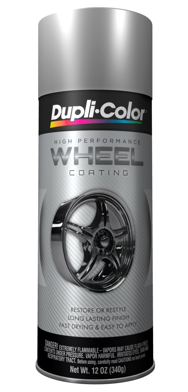 Dupli-Color HWP101 Silver High Performance Wheel Paint - 12 oz. (2 PACK)