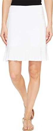 5ddcc417eb17 Fresh Produce Women's Rhythm Skort White Large 3 3 at Amazon Women's ...