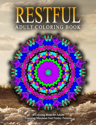 RESTFUL ADULT COLORING BOOKS - Vol.14: Relaxation Coloring Books For Adults (Volume 14)