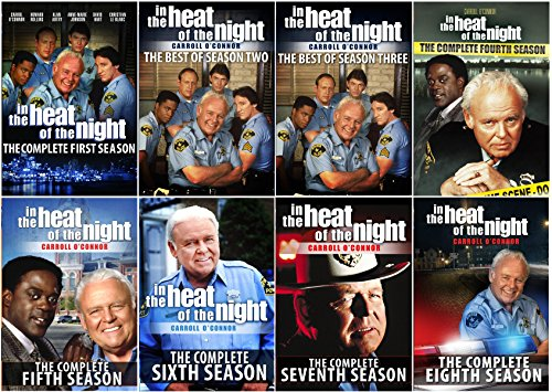 In The Heat of the Night: The Series Collector's Edition – The Best of all 8 Seasons – 34 DVDs – 119 Episodes by Willette Acquisition Corp.
