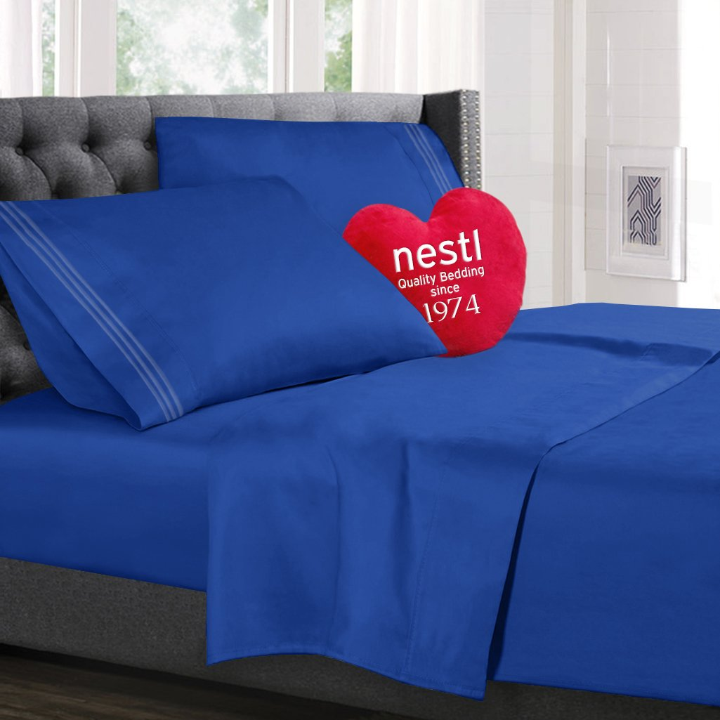 ROYAL BLUE - 1800 Luxury Bedding Collection