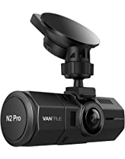 "Vantrue N2 Pro Dual Dash Cam Dual 1920x1080P Front and Rear Dash Cam (2.5K Single Front Recording) 1.5"" 310° Car Dashboard Camera w/Infrared Night Vision, Sony Sensor, Parking Mode, Motion Detection, Loop Recoding & G-Sensor, Support up to 256GB Cards"