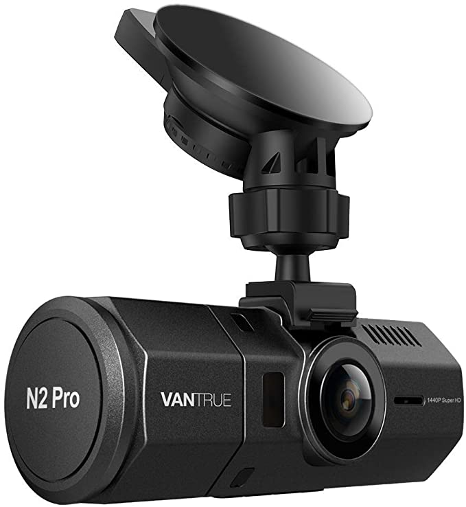 Vantrue N2 Pro Dual 1080P Dash Cam Front and Cabin Dashcam for ...