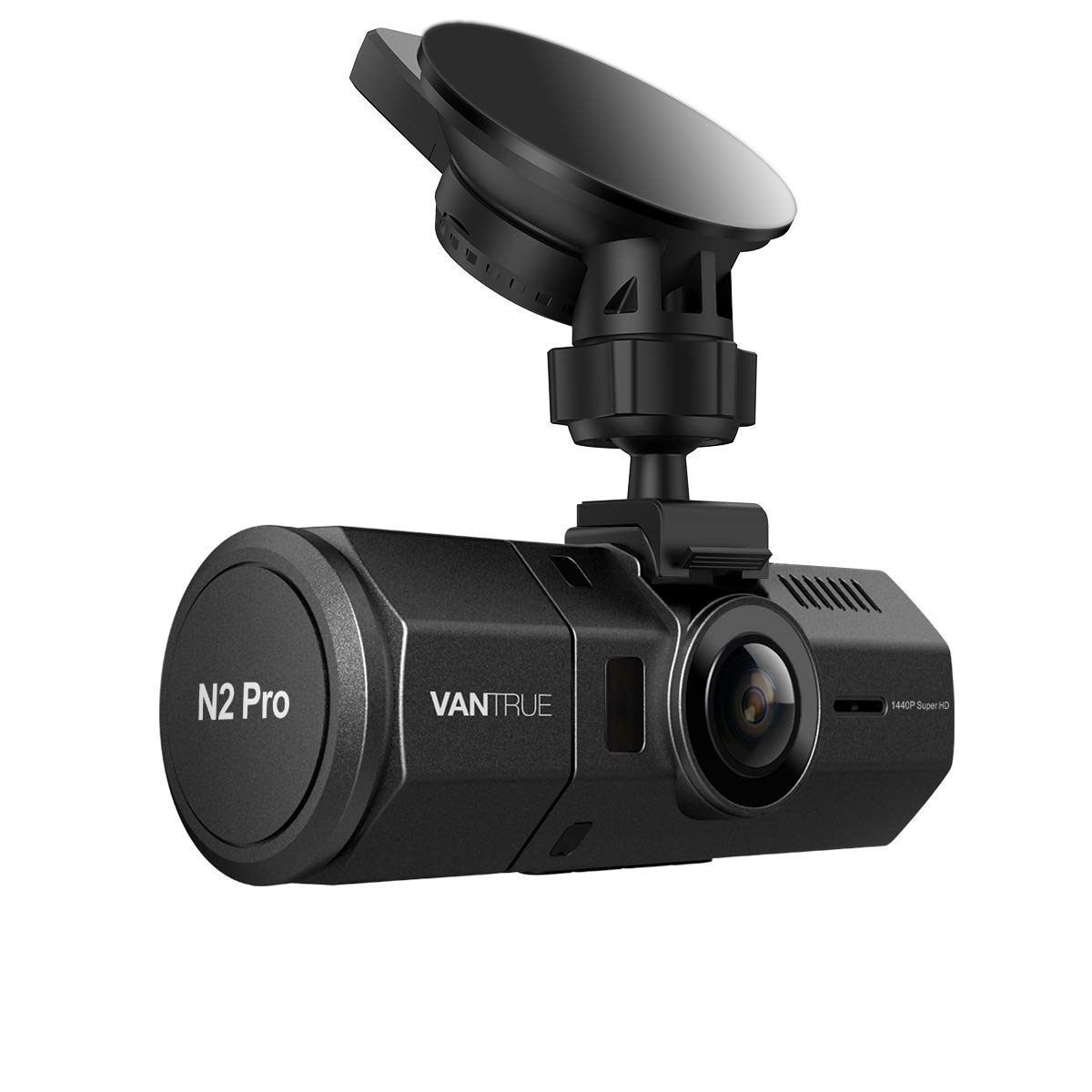 2.5K 1440P Single Front Support 256GB Max Vantrue N2 Pro Dual Dash Cam Infrared Night Vision Dual 1080P Front and Rear Dash Camera for Cars G-Sensor 1.5 310/° Car Camera w//Sony Sensor Parking Mode