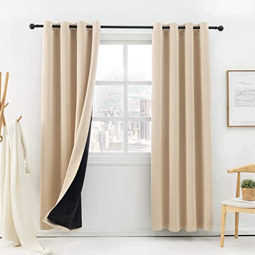 Anjee Thermal Insulated Window Curtains