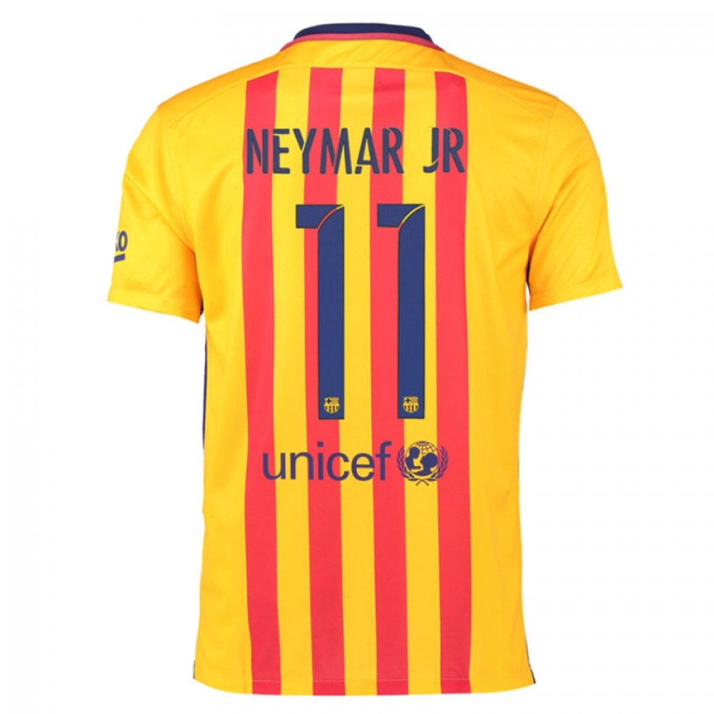2015-16 Barcelona Away Shirt (Neymar Jr 11) Kids B078CQDPVYRed LB 30-32\