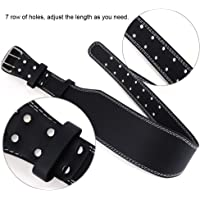 Gym Weight Lifting Belt Made with high Quality PU Leather for Hardcore Back Exercises Back Training Gym Fitness Body-Building Power Lifting