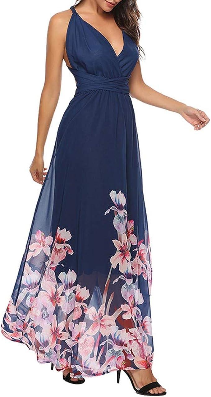 MAYOGO Abschlussball Kleider Damen Multiway-Kleid Lange Elegant
