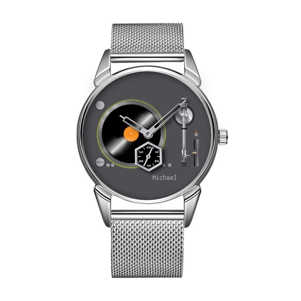 Mode Impermeable Reloj Minimalista Personalidad patrón Reloj de ...