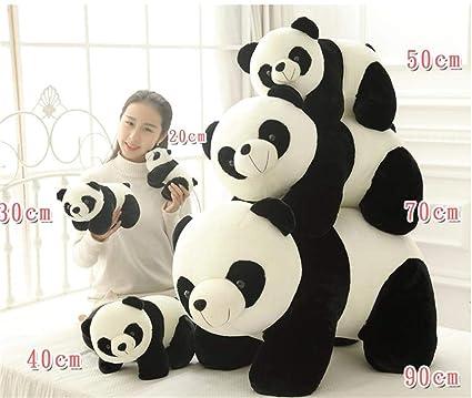 Panda muñeca de peluche con oso panda grande, cojín para ...