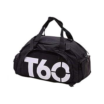 Amazon.com: T60 GymSports - Mochila de gimnasio, impermeable ...