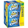 Oreo Mini Cookies Multipack, 12 count (Pack of 4) by Oreo
