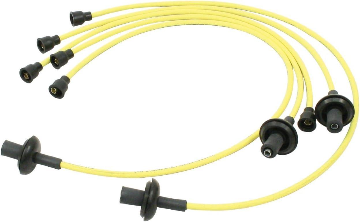 vw baja wiring amazon com spark plug wire set  yellow  dune buggy vw baja bug  amazon com spark plug wire set  yellow