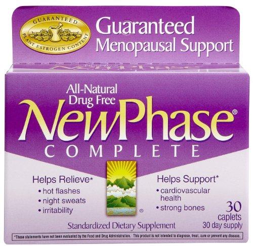 NEWPHASE complètes Caps soutien ménopause, 30 ct