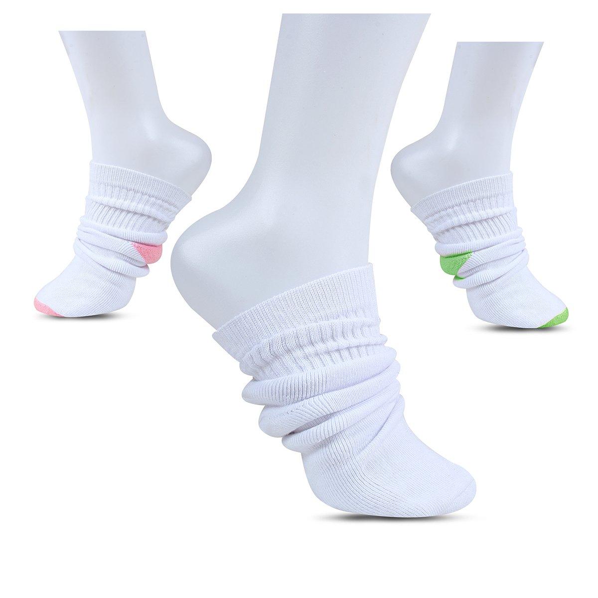 Sox Express Ankle Socks for Girls / Quarter Socks – Value Bundle Pack of 6