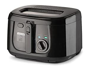 Toastmaster TM-165DF 1500W Deep Fryer, 2.5 L, Stainless Steel