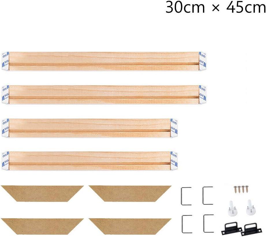 35x35cm Canvas Stretcher Bars Frame,Framed Picture Accessories,Wood Canvas Frame Kit,DIY Art Canvas Frames 14x14 Inch