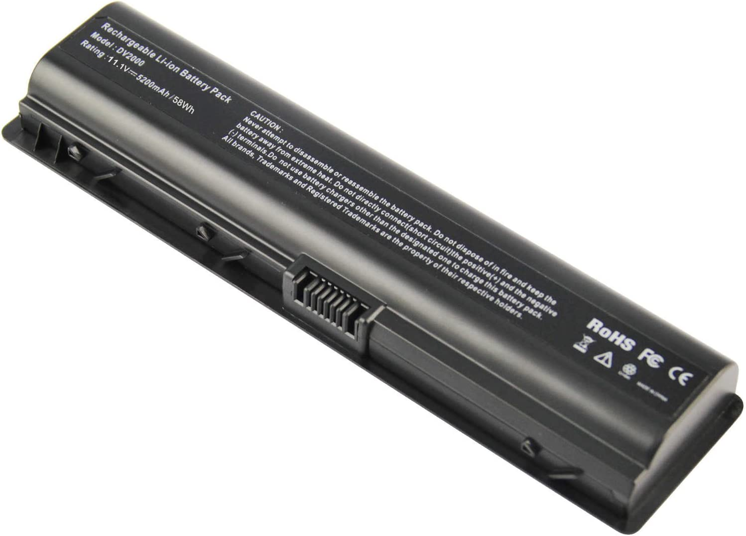 AC Doctor INC 6Cell 5200mAh Battery for HP Pavilion DV6000 DV2000 EV088AA 446506-001 C700 F500 Laptop 10.8V 6 Cell New