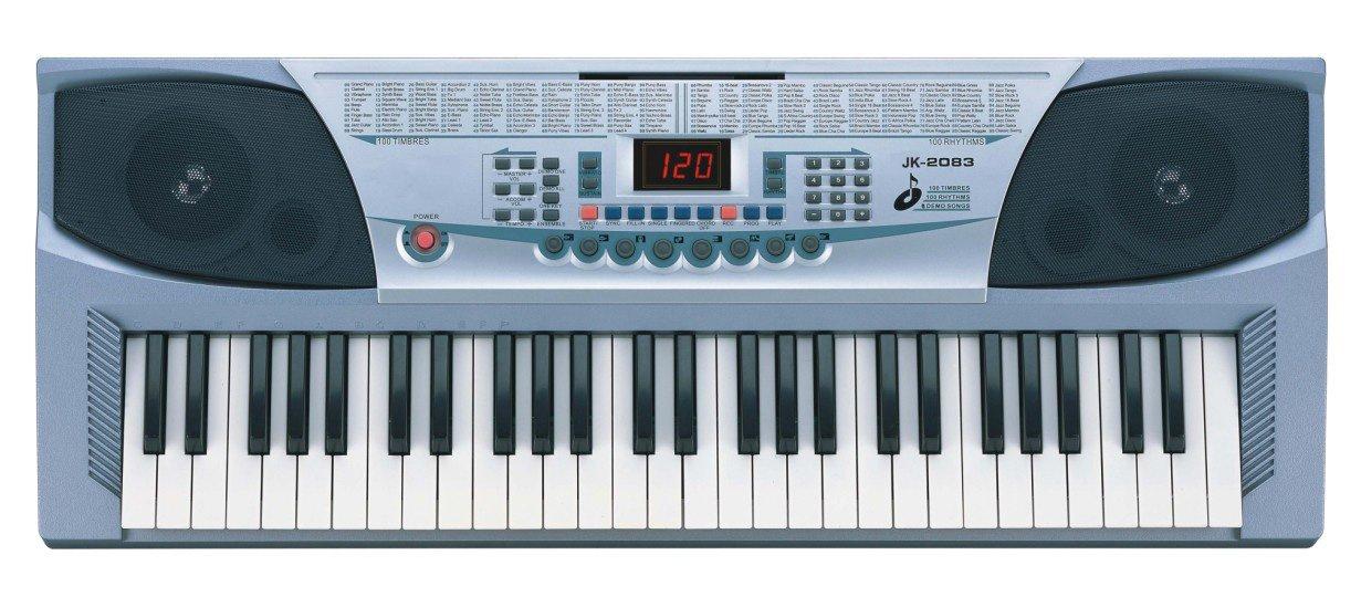 Delson jk-2083sl tastiera Arrangeur, Argento