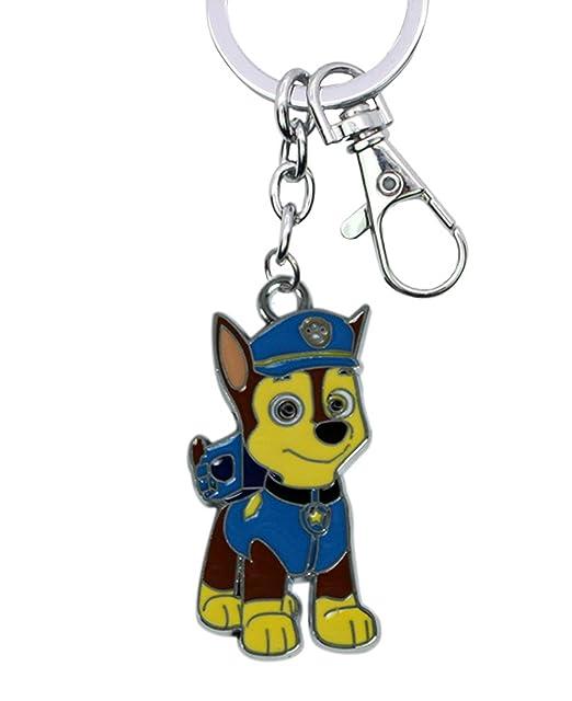YOURNELO Cartoon Dog Patrol Metal Keychain Bag Purse Pendant