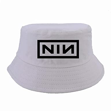 Industrial Nation Bucket hat Women Men Nine Nails Caps Summer Safari Fishing  Hats Fashion Panama Fisherman 6d29f80506e7