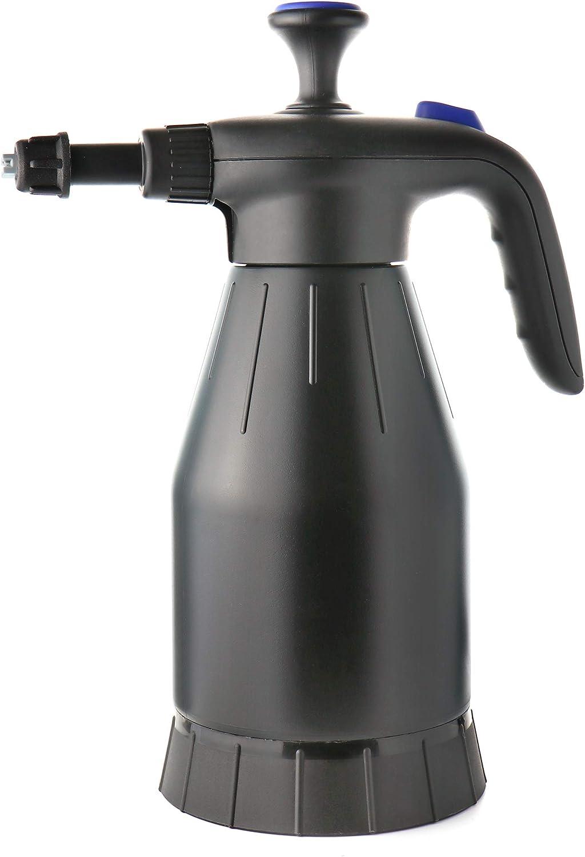 com-four® Botella de pulverización con Bomba de presión, pulverizador de presión como generador de Espuma para automóvil, hogar o jardín (01 Pieza - pulverizador de Espuma)
