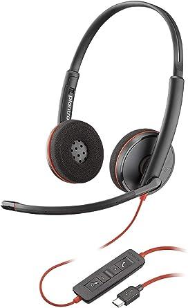 Plantronics 209749 101 Blackwire Uc Headphones C3220 Usb C Elektronik