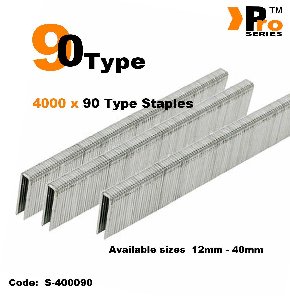 90 Type 1000 x 20mm Staples