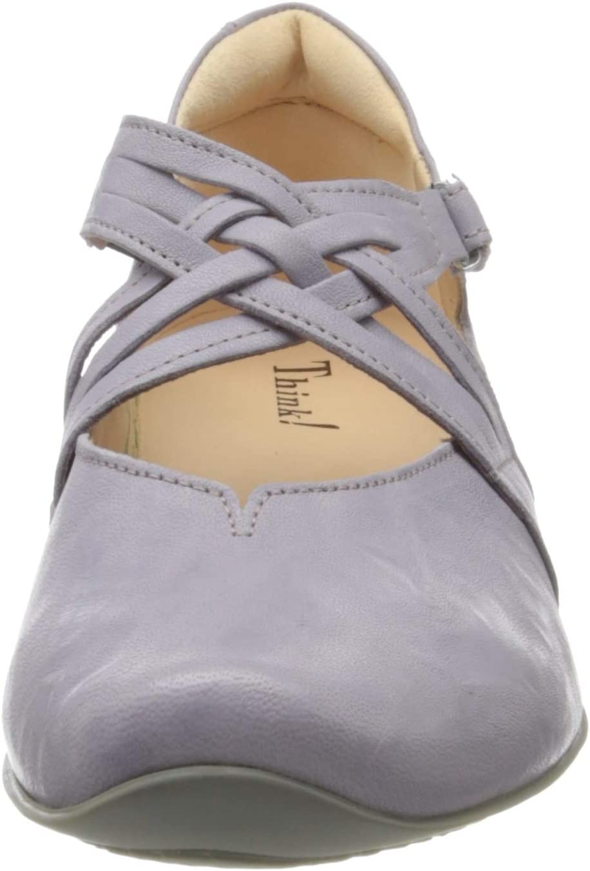 Think! 686108_CHILLI dames ballerina's met riempjes Violet Lavendel 30