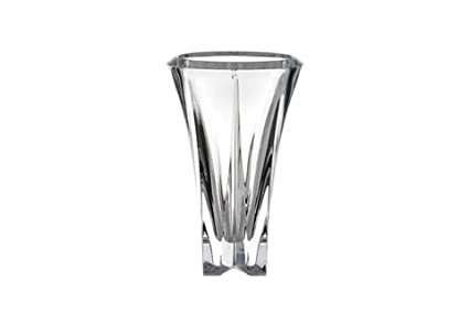 Amazon Rogaska Polar Light Crystal Vase 25cm Home Kitchen