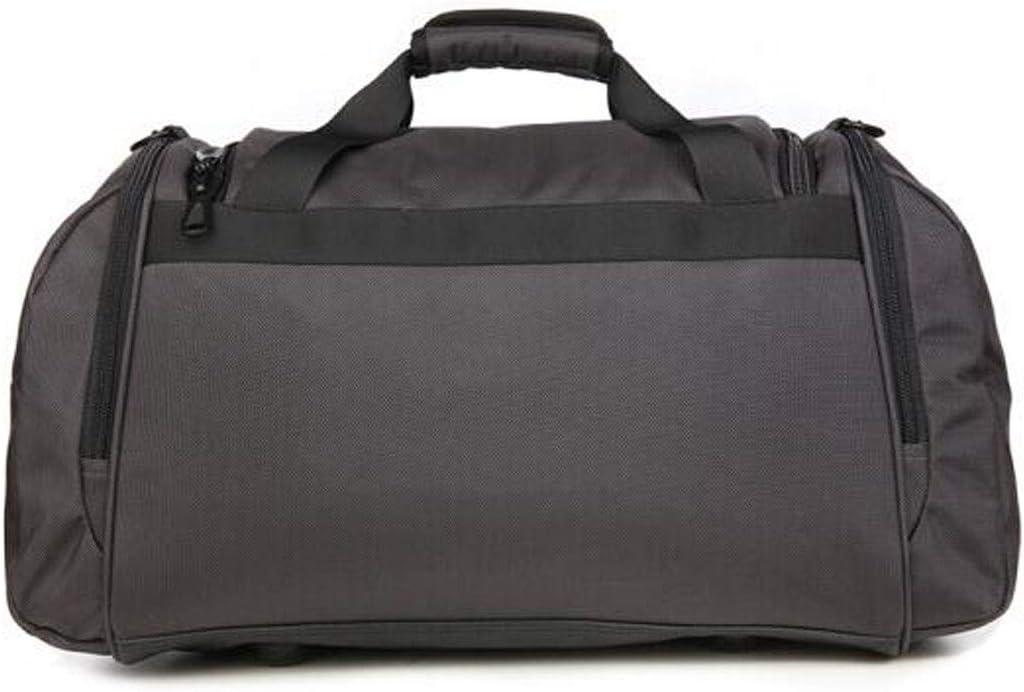 Kaiyitong Fitness Bag Black Large Size: 542728cm Large-Capacity Business Travel Bag Color : Gray, Size : 20.410.410 inch Mens Handbag Female Short-Distance Travel Bag