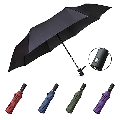 97a759c21 Compact Umbrella Windproof for Women and Man,Automatic Folding Umbrella  Strong Ultralight Portable Travel Umbrella