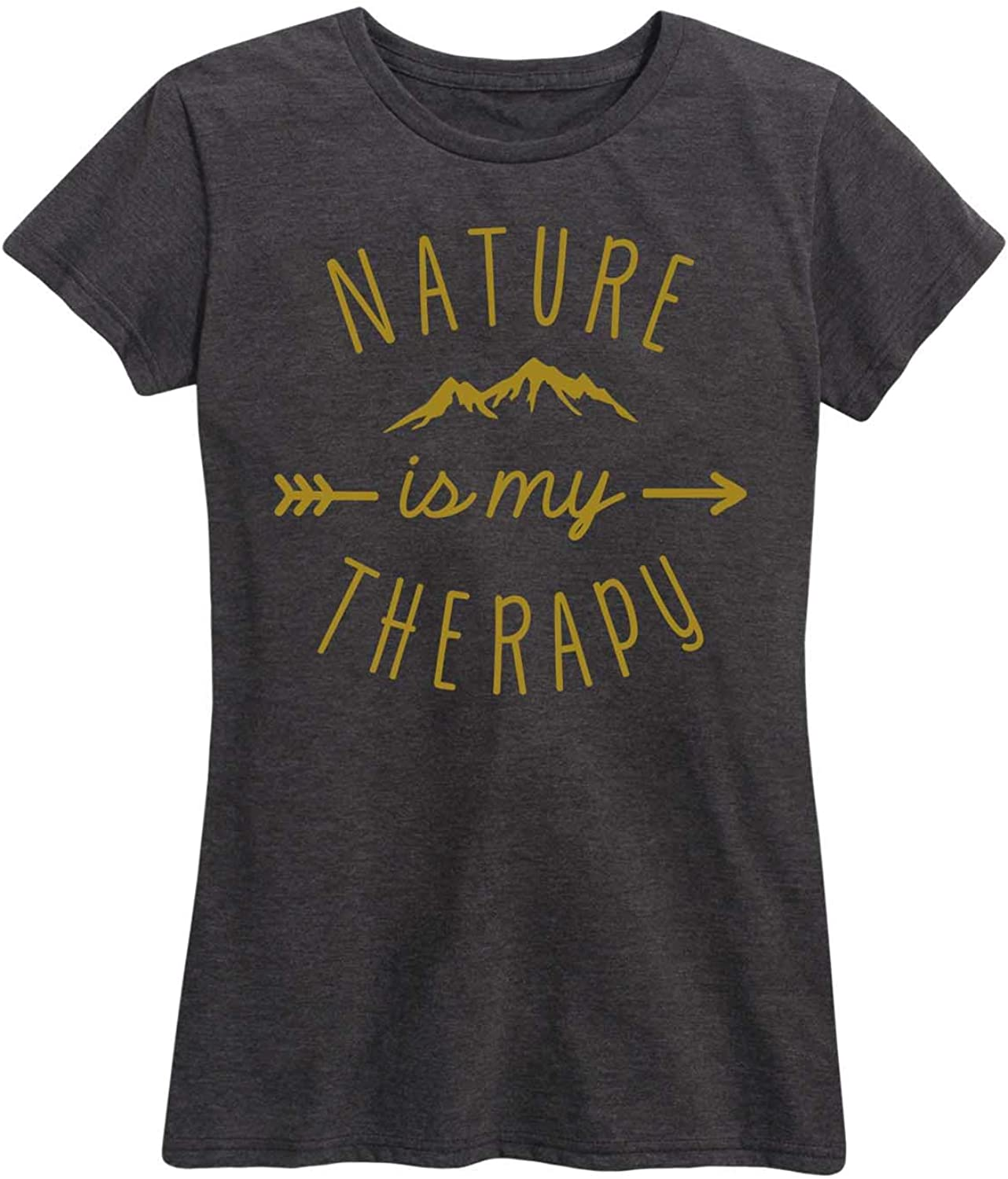 Nature is My Therapy - Women's Short Sleeve Graphic T-Shirt