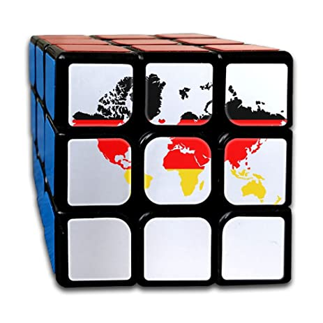 Amazon world map with germany flag rubiks cube game brain world map with germany flag rubiks cube game brain training game match puzzle toy for kids gumiabroncs Choice Image