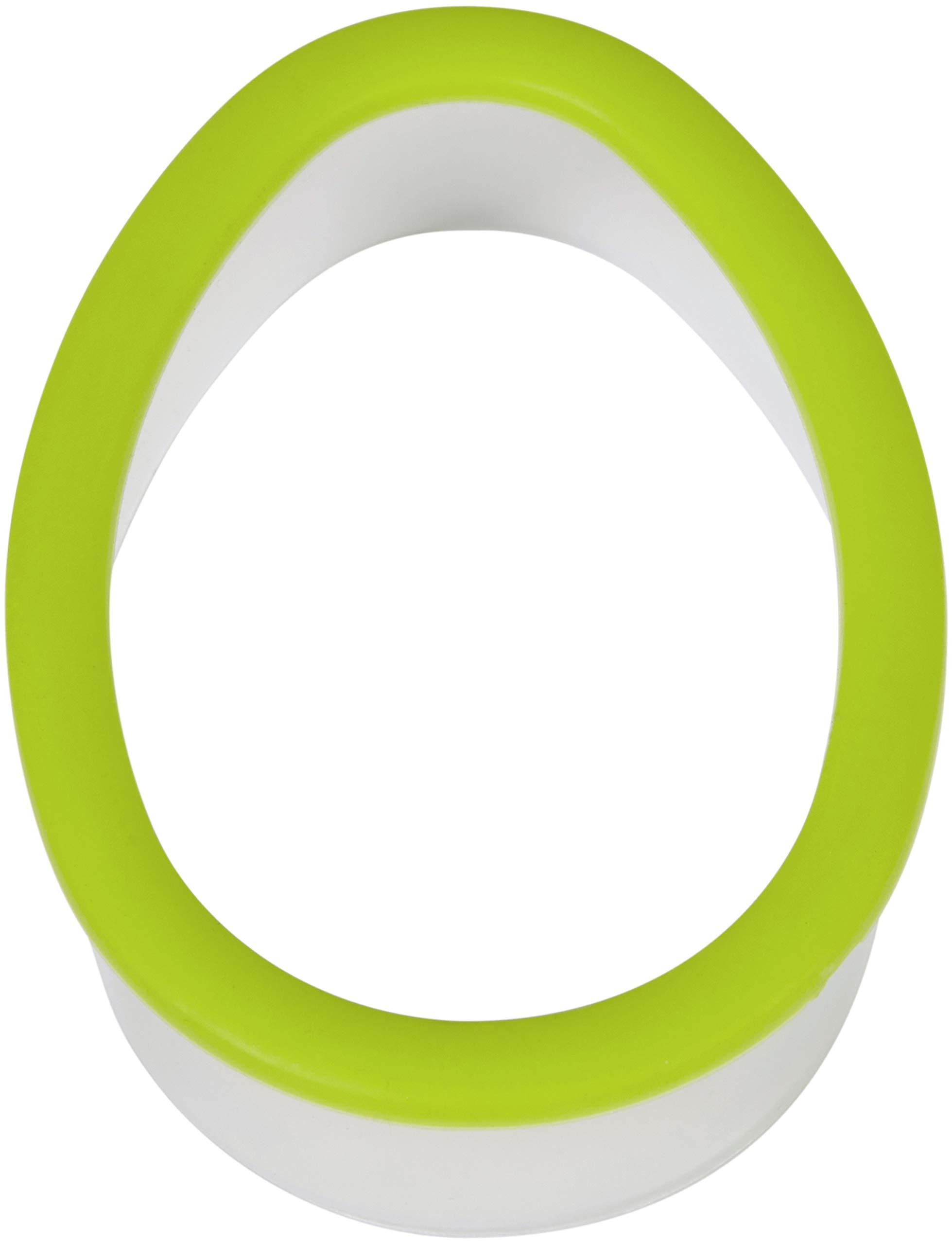 Wilton 2311-1381 Comfort Grip Green Egg Cookie Cutter
