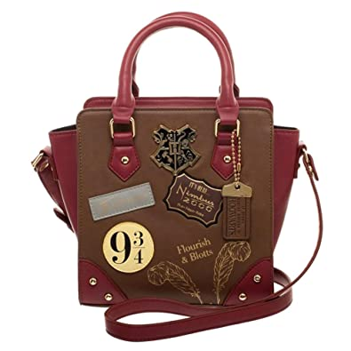 a52345e41f Amazon.com  Harry Potter 9 3 4 Deluxe Mini Brief Handbag Purse Satchel   Clothing