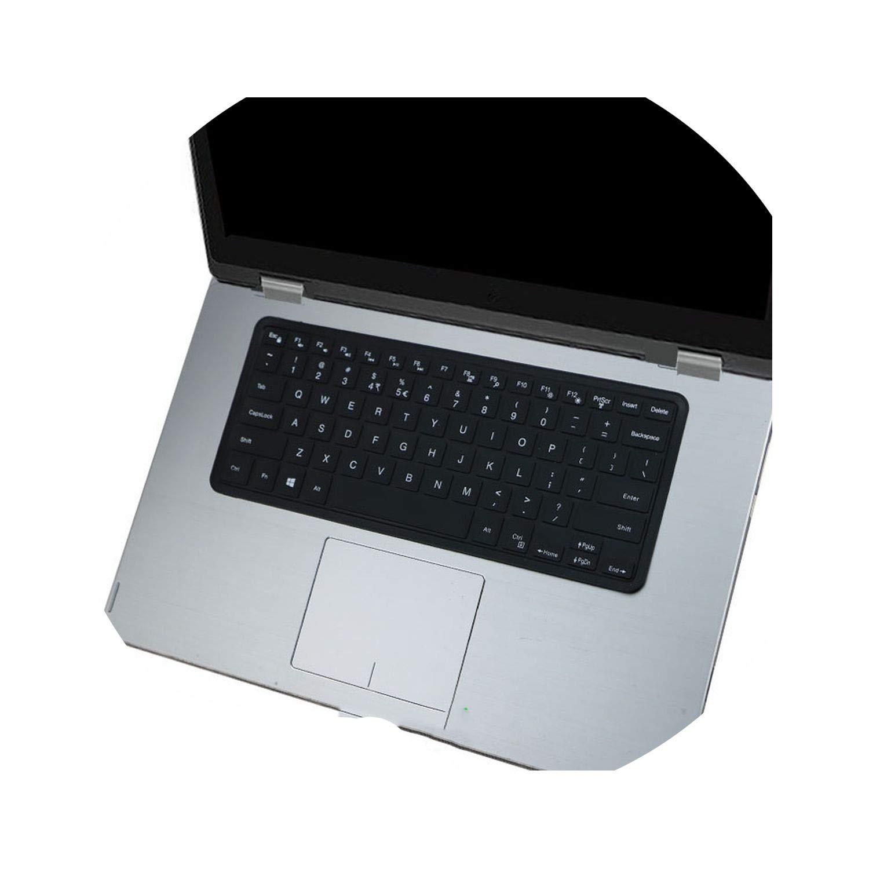 Housse de Clavier en Silicone pour Dell Xps 15 Xps15 9550 9560 9570 15mf Pro 5578 7558 7568 7569 7572 15w//WR Vostro 15 5568 7568