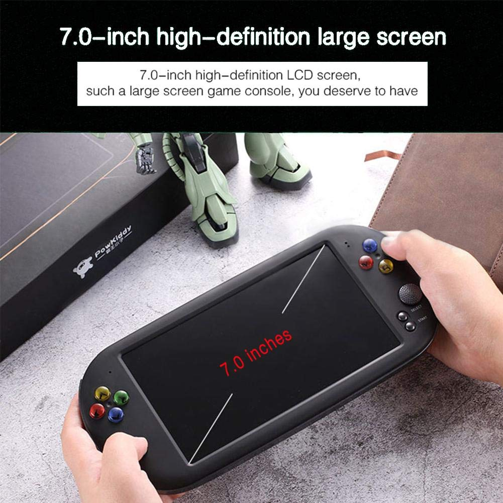 Handheld Game Console for Kids Adults, Large Screen HD Handheld GBA Arcade Game NES Nostalgic FC Handheld Game Console by decwang (Image #4)