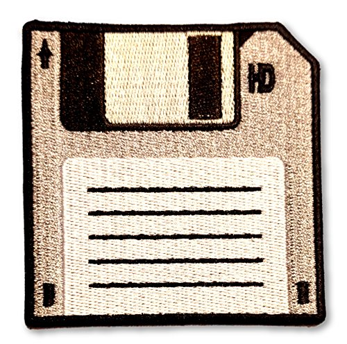 Ohoulihans   5 Inch Floppy Disk Patch   100  Embroidery