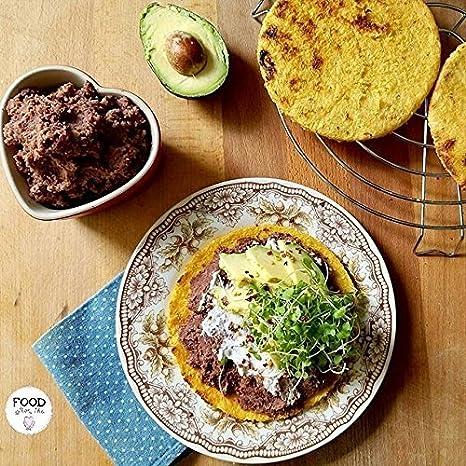 Parrilla para arepas 9.5 by CubanFoodMarket: Amazon.es: Hogar